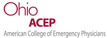 Ohio Chapter of the American College of Emergency Physicians. Click logo for home page.
