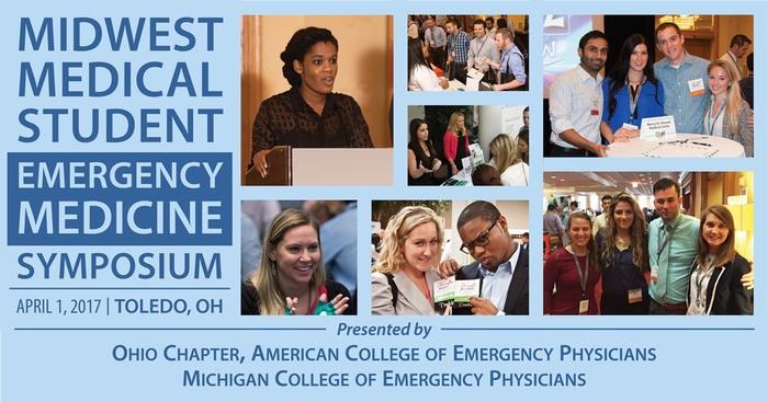 Med Student Symposium logo - collage