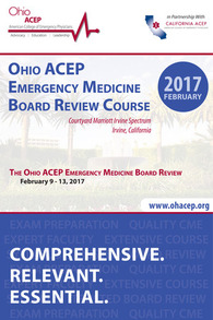 2017 February Board Review Course Brochure Cover
