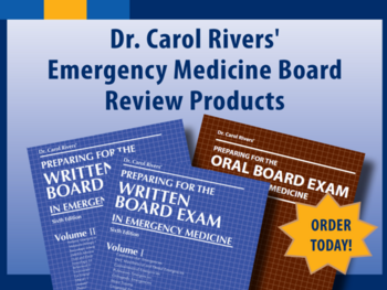 Dr. Carol Rivers' Board Review Products - Order Today!